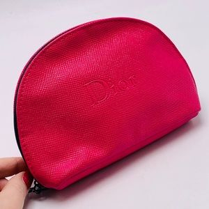 Hot Pink Cosmetic Bag by Christian Dior Beaute